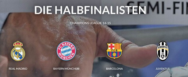 Champions-League-Halbfinale